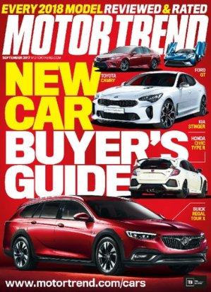 4 Yr Motor Trend Magazine Subscriptions
