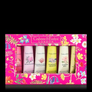 Crabtree & Evelyn - Limted Edition Hand Therapy Sampler Set in Magenta