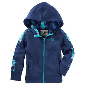 Kid Girl Floral Active Hoodie | OshKosh.com
