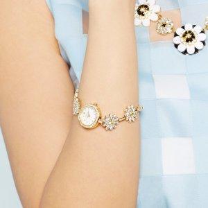 最新款 $170.43起 (原价$325.00)kate spade 水晶雏菊时装女表 3色款 清丽少女风