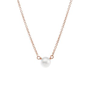 must-have - Not Your Mother's Pearls pearls of success, small pearl necklace, rose gold filled