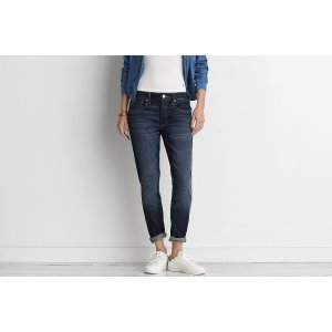 Tomgirl Jean, Purssian Dark | American Eagle Outfitters
