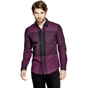 Sequoia Plaid Shirt | GUESS.com