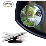 Blind Spot Mirror, Samdone Stick-On Adjustable 2