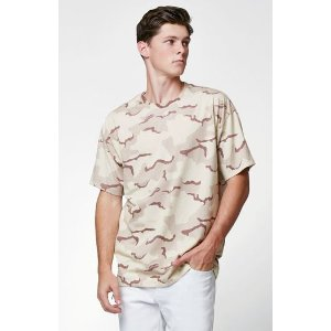 PacSun Jesus Camo Relaxed T-Shirt at PacSun.com