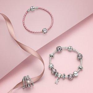 Up to 50% OffPANDORA Pink Items @ Rue La La