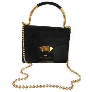 black Plain Leather KARL LAGERFELD Handbag - Vestiaire Collective