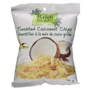 CDN$ 1.79King Island 碳烤椰子片,高纤维吃不胖的零食