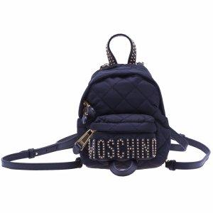 Moschino - Moschino Mini Studded Backpack - 761282032555, Women's Accessories | Italist