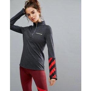 Reebok Training Long Sleeve Zip Top