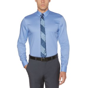 Slim Solid Dress Shirt