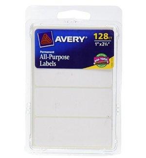 $0.98 史低价Avery 便签贴纸 128个 白色