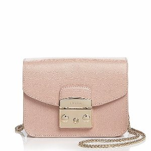 Furla Metropolis Mini Leather Crossbody | Bloomingdale's