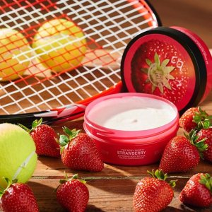 50% Off + Extra 12% OffStrawberry Collection @ The Body Shop