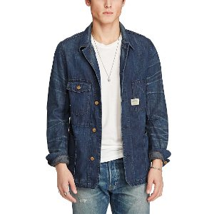 Indigo Denim Chore Jacket - Lightweight & Quilted � Jackets & Outerwear - RalphLauren.com