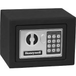 Honeywell 0.17 Cu. Ft. Security Safe - Black