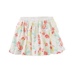 Toddler Girl Floral Scooter Skirt | OshKosh.com