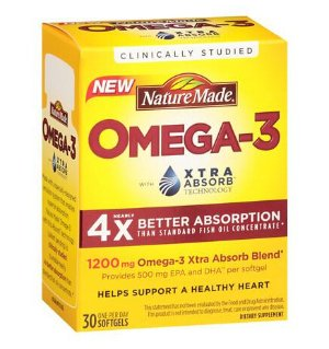 BoGo + $3 Off + Extra 11% OFFNature Made Omega-3 Softgels