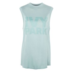 Drop Armhole Tank by Ivy Park