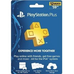 $391-Year Sony PlayStation Plus Membership