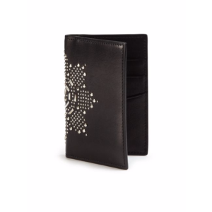Alexander McQueen - Tall Printed Leather Wallet - saks.com