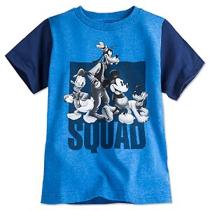 Mickey Mouse and Friends Tee for Boys - Blue | Disney Store