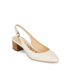 Lorene Ivyle Leather Slingback Heels