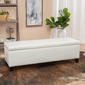 $121.94Lucinda Faux Leather Storage Bench