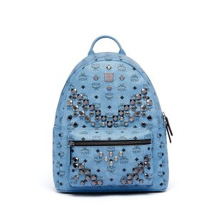 Medium Stark Backpack in Denim