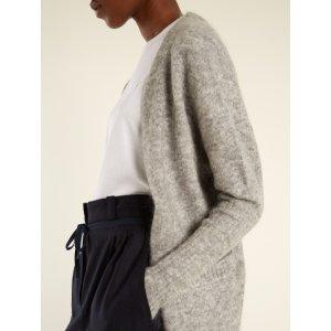 Raya brushed-knit cardigan | Acne Studios | MATCHESFASHION.COM US