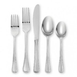 ONEIDA HOLLIS 74 Piece Casual Flatware Set, Service for 12 - Summer Black Friday - Sale