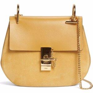 Chloé Drew Leather & Suede Shoulder Bag   Nordstrom