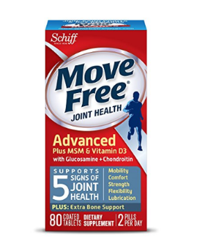 $12.99Move Free Advanced, 80 tablets - Joint Health Supplement with Glucosamine and Chondroitin