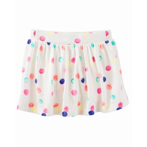 Baby Girl Dot Print Scooter Skirt | OshKosh.com