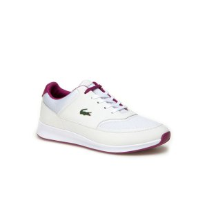 Women's Chaumont Lace Bi-Material Technical Canvas Sneakers | LACOSTE