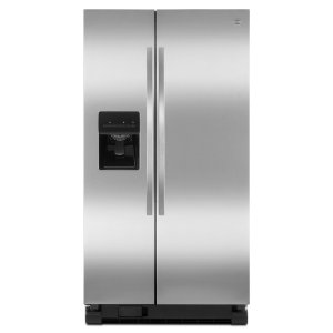 $699.99Kenmore 25.4立方英尺不锈钢双开门冰箱