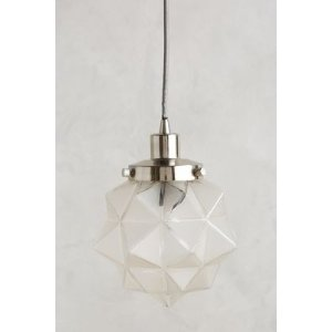 Frosted Facet Star Pendant