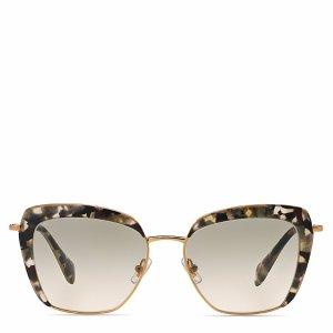 Miu Miu 52QS Square Sunglasses, 53mm | Bloomingdale's