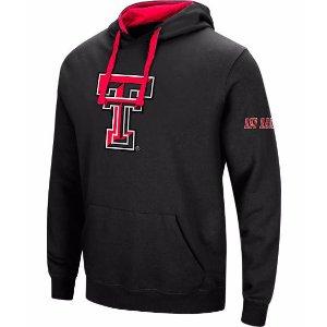 Men's Stadium Texas Tech Red Raiders College Big Logo Hoodie