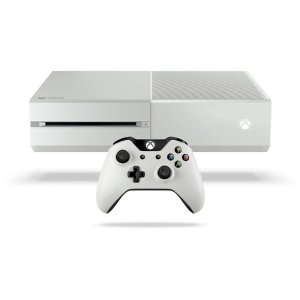 Refurbished: Microsoft 500 GB Xbox One Gears of War Gaming Console - White
