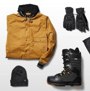 额外6折包邮 潮Tee $7起DC Shoes 街头潮牌大促 男士潮Tee 滑雪服折上折热卖
