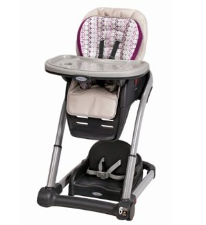 $109.4Graco Blossom 4-in-1 Convertible High Chair Seating System, Nyssa