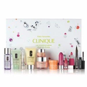 $49.5 (价值 $190.5)+免税 2.6折Clinique 明星产品套装 含正装水磁场面霜+眼霜