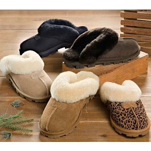 UGG® Australia Shearling Coquette Slippers