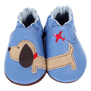 Boy Dachshund Baby Shoes - Robeez