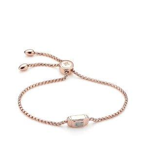 Monica Vinader Baja Deco Diamond Bracelet