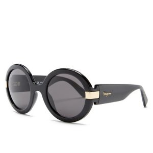 Salvatore Ferragamo Women's Oversized Round Sunglasses