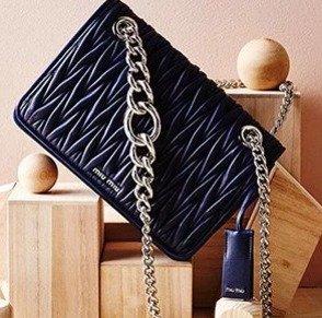 Up to 40% OffMiu Miu Shoes & Handbags @ Rue La La