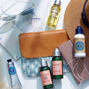 Free 7 days of radiancewith Any Purchase @ L'Occitane