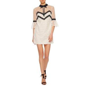 Embroidered Lace Dress   Moda Operandi